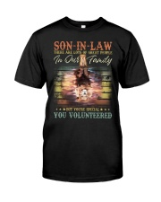 Son-in-law - Lion - You Volunteered - T-Shirt Classic T-Shirt front