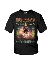 Son-in-law - Lion - You Volunteered - T-Shirt Youth T-Shirt thumbnail