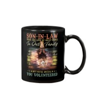 Son-in-law - Lion - You Volunteered - T-Shirt Mug thumbnail