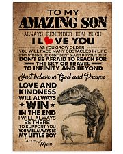 MOM TO SON 16x24 Poster front