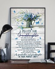 Grandma and Grandpa to Granddaughter - Poster 16x24 Poster lifestyle-poster-2