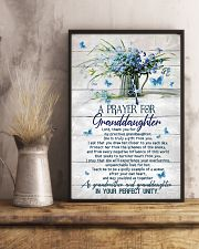Grandma and Grandpa to Granddaughter - Poster 16x24 Poster lifestyle-poster-3
