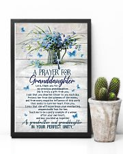 Grandma and Grandpa to Granddaughter - Poster 16x24 Poster lifestyle-poster-8