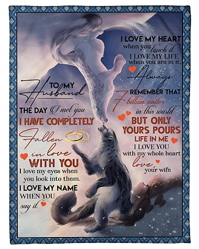 TO MY HUSBAND - SNOW LEOPARD - I LOVE YOU