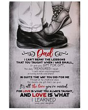 POSTER - TO MY DAD - FEET - I CAN'T 16x24 Poster front