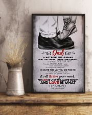 POSTER - TO MY DAD - FEET - I CAN'T 16x24 Poster lifestyle-poster-3