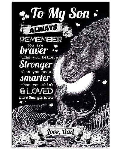 POSTER - TO MY SON - T REX - ALWAYS