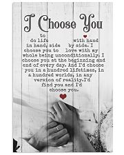HUSBAND AND WIFE - HAND IN HAND - I CHOOSE YOU 16x24 Poster front