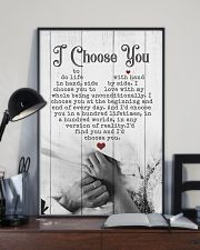 HUSBAND AND WIFE - HAND IN HAND - I CHOOSE YOU 16x24 Poster lifestyle-poster-2