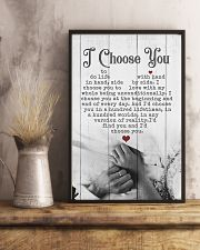 HUSBAND AND WIFE - HAND IN HAND - I CHOOSE YOU 16x24 Poster lifestyle-poster-3