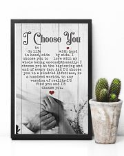 HUSBAND AND WIFE - HAND IN HAND - I CHOOSE YOU 16x24 Poster lifestyle-poster-8