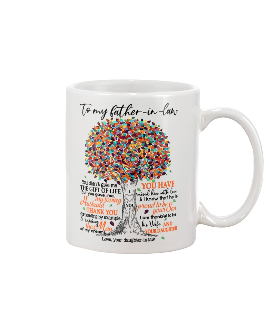 DAUGHTER TO FATHER IN LAW Mug