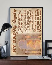 To My Angel Dad - Poster 16x24 Poster lifestyle-poster-2