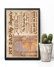 To My Angel Dad - Poster 16x24 Poster lifestyle-poster-8