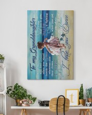 To My Granddaughter - Beach - I Hope You Dance 20x30 Gallery Wrapped Canvas Prints aos-canvas-pgw-20x30-lifestyle-front-03