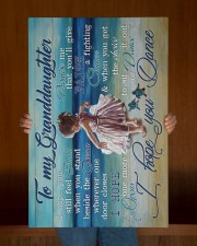 To My Granddaughter - Beach - I Hope You Dance 20x30 Gallery Wrapped Canvas Prints aos-canvas-pgw-20x30-lifestyle-front-22