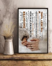 Daughter - Hands - Once Upon A Time - I Asked God 16x24 Poster lifestyle-poster-3