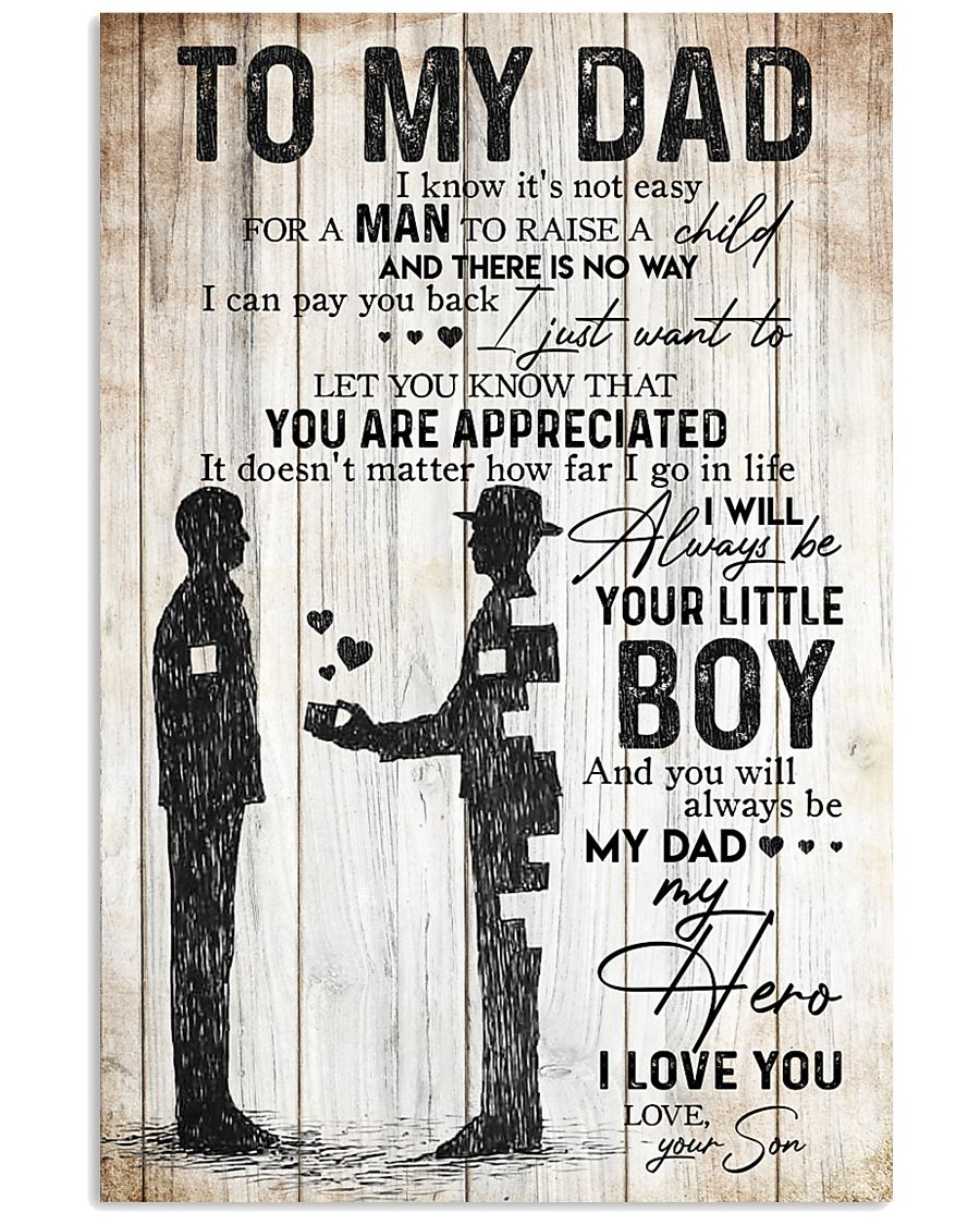 POSTER - TO MY DAD - MY DAD MY HERO 16x24 Poster