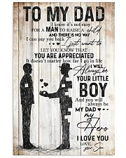 POSTER - TO MY DAD - MY DAD MY HERO 16x24 Poster front