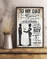POSTER - TO MY DAD - MY DAD MY HERO 16x24 Poster lifestyle-poster-3