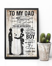 POSTER - TO MY DAD - MY DAD MY HERO 16x24 Poster lifestyle-poster-8