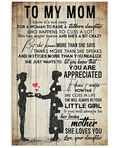 TO MY MOM - VINTAGE - YOU ARE APPRECIATED