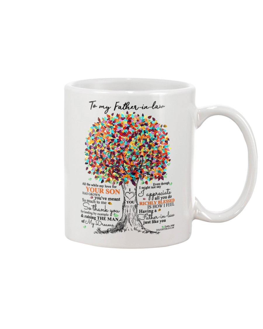 TO MY FATHER IN LAW Mug