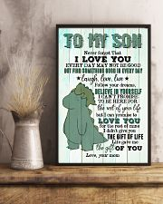 Mom To Son - T rex - Never Forget That I Love you 16x24 Poster lifestyle-poster-3