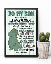 Mom To Son - T rex - Never Forget That I Love you 16x24 Poster lifestyle-poster-8
