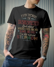 Even though I'm disrespected  Classic T-Shirt lifestyle-mens-crewneck-front-6