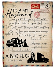 "Wife to Husband - I May Not Be Your Firrst Date  Small Fleece Blanket - 30"" x 40"" front"