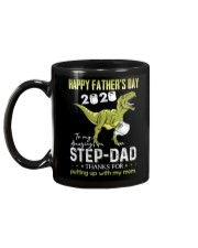 MUG - TO MY BONUS DAD - FATHER'S DAY - DINOSAUR Mug back