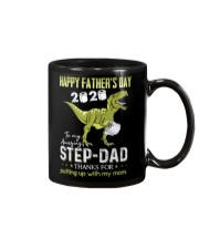 MUG - TO MY BONUS DAD - FATHER'S DAY - DINOSAUR Mug front