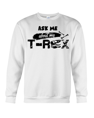 T-SHIRT - TO KIDS - T REX - ASK ME