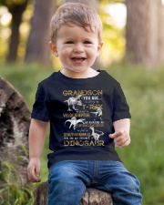 GRANDMA TO GRANDSON - DINOS - FAVORITE Youth T-Shirt lifestyle-youth-tshirt-front-4