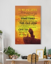 Daughter - Lion- Always Remember Who You Are  20x30 Gallery Wrapped Canvas Prints aos-canvas-pgw-20x30-lifestyle-front-03