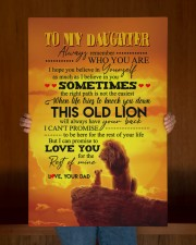 Daughter - Lion- Always Remember Who You Are  20x30 Gallery Wrapped Canvas Prints aos-canvas-pgw-20x30-lifestyle-front-22