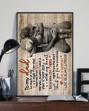 TO MY DAD 16x24 Poster lifestyle-poster-2