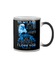 To My Dad - You Are Appreciated - Mug  Color Changing Mug tile