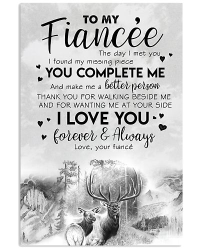 TO MY FIANCE'E - DEER - THE DAY I MET YOU