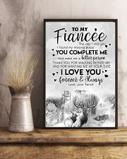 TO MY FIANCE'E - DEER - THE DAY I MET YOU 16x24 Poster lifestyle-poster-3