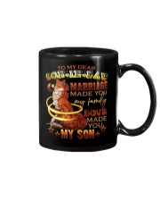TO MY SON-IN-LAW - FOX - LOVE MADE YOU MY SON Mug tile