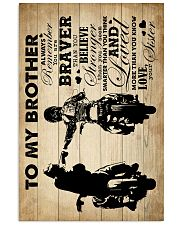 To My Brother - Motorbike - Poster 16x24 Poster front