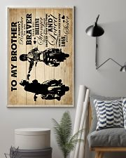 To My Brother - Motorbike - Poster 16x24 Poster lifestyle-poster-1