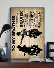 To My Brother - Motorbike - Poster 16x24 Poster lifestyle-poster-2