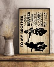 To My Brother - Motorbike - Poster 16x24 Poster lifestyle-poster-3