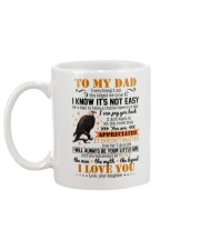 MUG - TO MY DAD - EAGLE - YOU ARE APPRECIATED Mug back