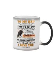 MUG - TO MY DAD - EAGLE - YOU ARE APPRECIATED Color Changing Mug thumbnail