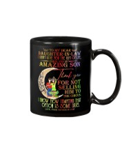 FATHER-IN-LAW TO DAUGHTER IN LAW Mug front
