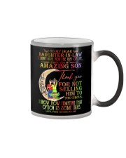 FATHER-IN-LAW TO DAUGHTER IN LAW Color Changing Mug thumbnail